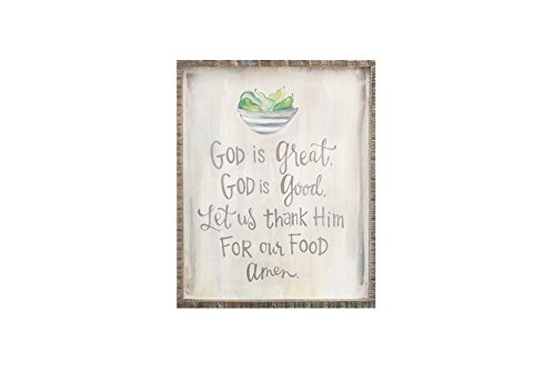 Glory Haus God Is Great Framed Canvas Art, Multicolor