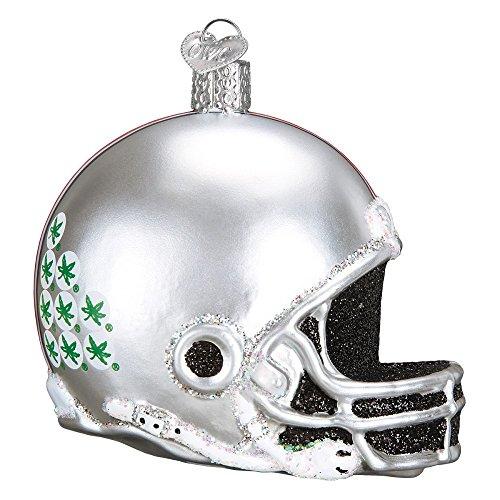 Old World Christmas Collegiate Football Helmet Ornament (Ohio State)