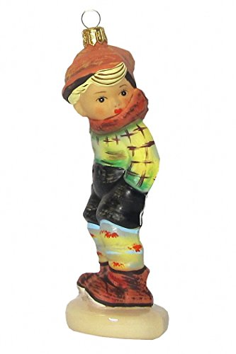 Hummel figurine Christmas ornament rascal, original MI Hummel Collection, gift-boxed