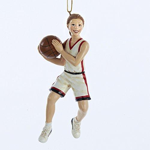 Girl Basketball Player Sports Athlete Christmas Ornament Decoration Adler C8886G by Kurt Adler