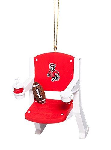 North Carolina State Stadium Chair Ornament