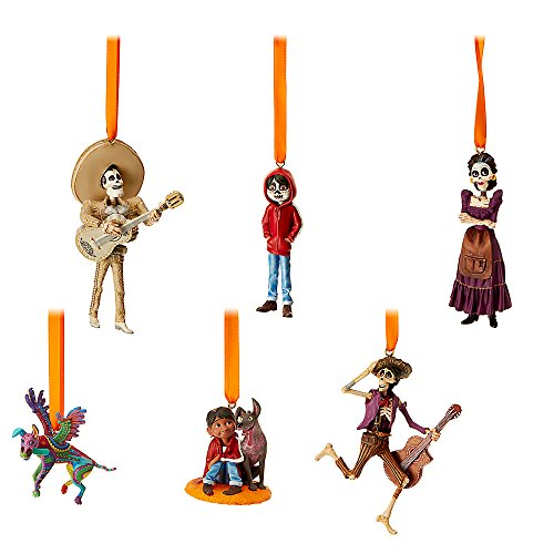 Disney Coco Sketchbook Ornament Set