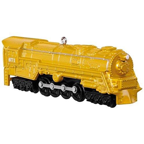 Hallmark LIONEL Trains 671 S-2 Turbine Steam Locomotive Keepsake Ornament