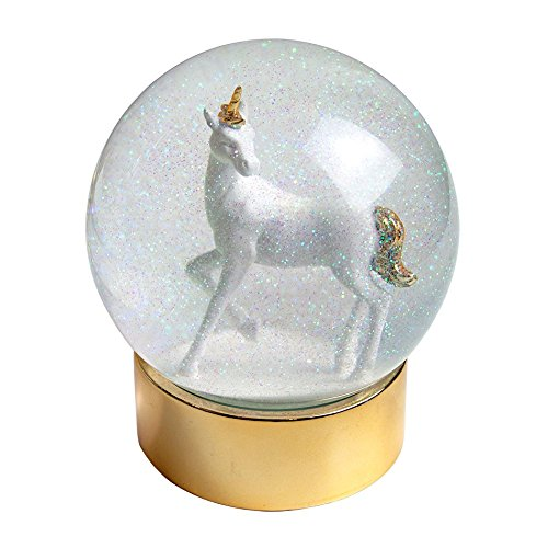 Talking Tables Unicorn Snow Globe