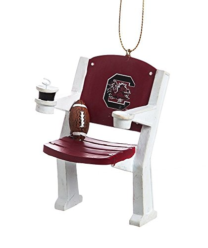 South Carolina Gamecocks Official NCAA 4 inch x 3 inch Stadium Seat Ornament