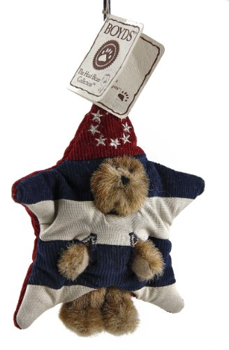Boyd's Winkle Bear Star Christmas Ornament