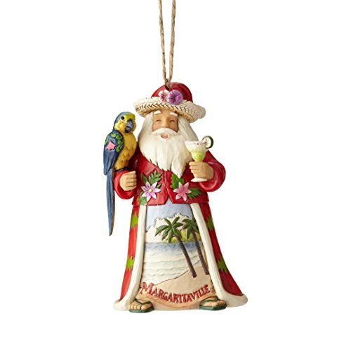 Enesco Margaritaville by Jim Shore Margaritaville Santa Ornament