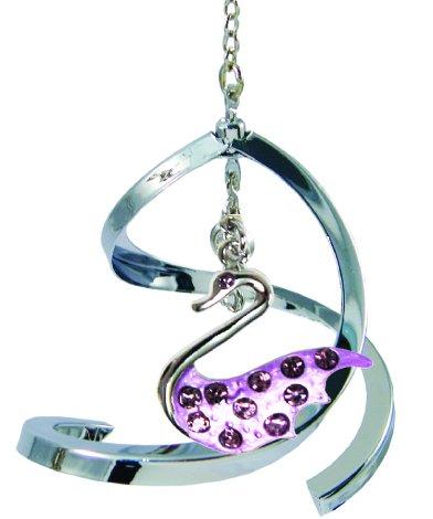 Propelling Spiral Ornaments – Swan (Purple)