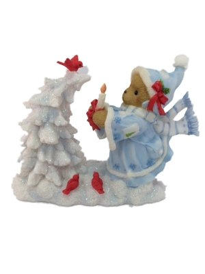 Cherished Teddies ….. Cadence.. White Christmas Dreams Come True ….. 4010081