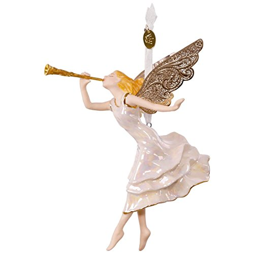 Hallmark Keepsake 2017 Angel of Winter Wonder Premium Porcelain Christmas Ornament