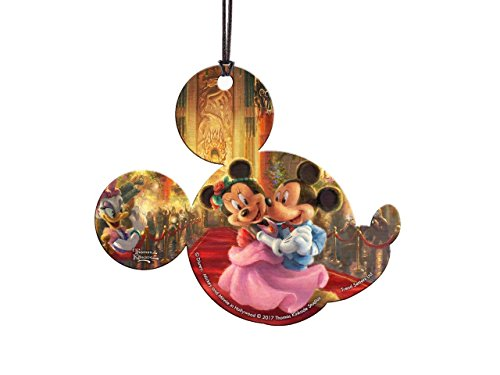 Disney's (Mickey and Minnie Mouse in Hollywood) Hanging Acrylic – Thomas Kinkade Artwork
