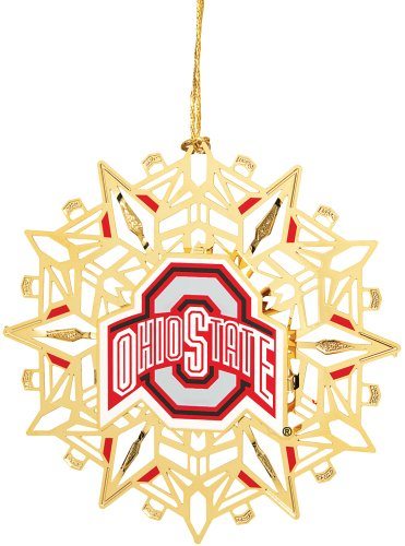 Baldwin Ohio State University Logo 3-inch Sports Ornament