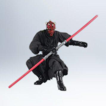 Hallmark 2012 Sith Apprentice Darth Maul Star Wars Ornament