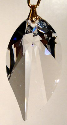 Swarovski 40mm Clear Crystal New Leaf Prism