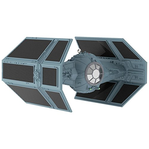 Star Wars Darth Vader's TIE Fighter Sound Ornament With Light Sci-Fi