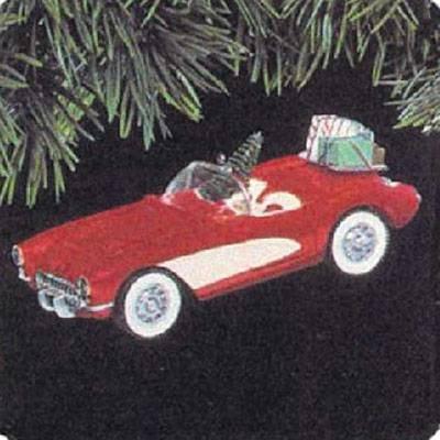 MIB 1991 Hallmark Ornament 1957 Corvette # 1 Series