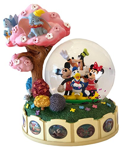 Disney Parks Shanghai Mickey & Friends Dumbo Pegasus Snow Globe