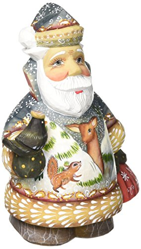 G. Debrekht 5 Inch Tender Twilight with Reindeer Santa