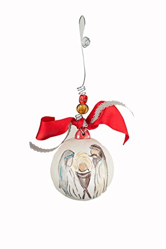 Glory Haus 20100109 4 x 4 This Is Christ the King Ball Ornament, Multicolor