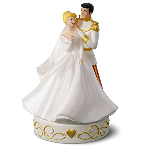 Hallmark Keepsake 2018 Disney Cinderella So This Is Love Porcelain Musical Year Dated Christmas Ornament