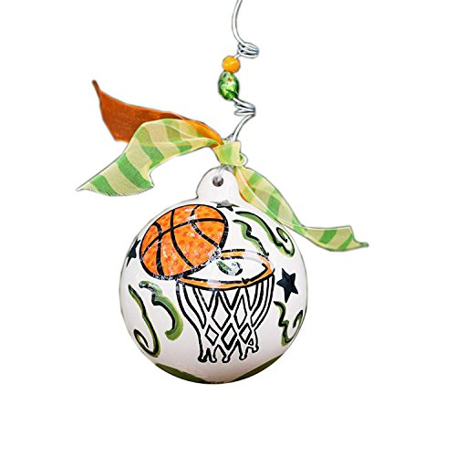 Glory Haus Basketball Ball Ornament, 4-Inch