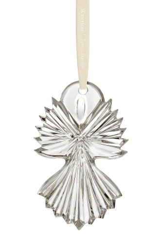 Waterford Crystal Times Square Let There Be Joy Disc, Christmas Ornament