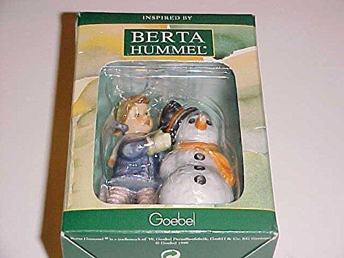 Goebel Berta Hummel Crowning Touch Christmas Ornament 3″