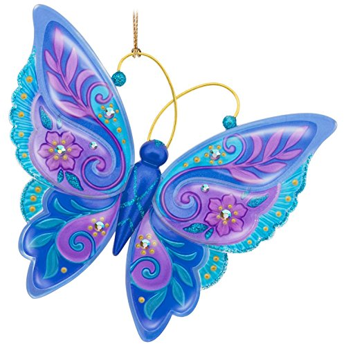 Hallmark Keepsake 2017 Brilliant Butterflies Christmas Ornament