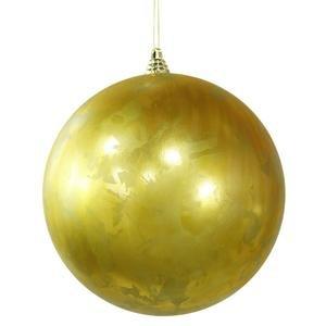 Vickerman 10″ Antique Gold Foil Finish Christmas Ball Ornament
