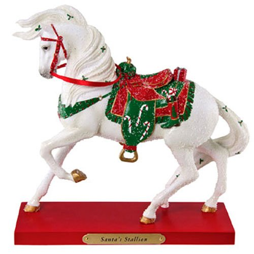 The Trail of Painted Ponies Santa's Stallion Figurine