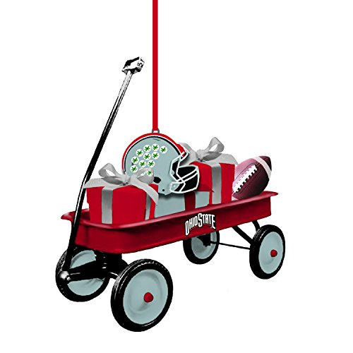 Team Sports America Ohio State University Team Wagon Ornament