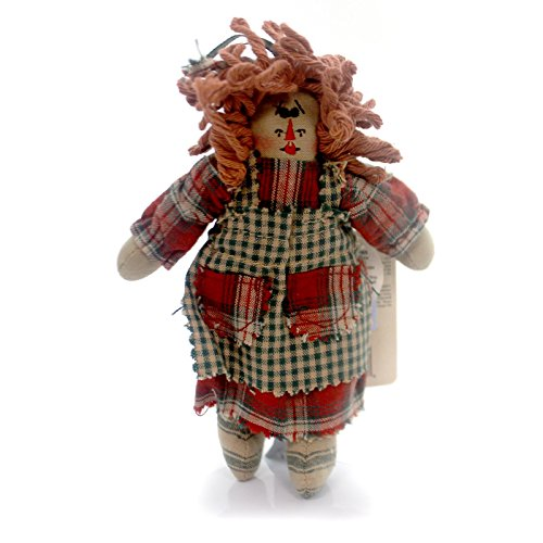 The Boyds Collection Boyds Bears Sassafrass Rag Doll Ornament #56280-01
