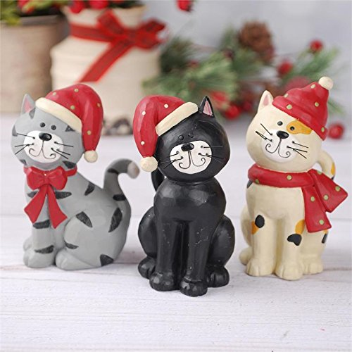 Blossom Bucket Cats in Scarves and Hats #178-11457