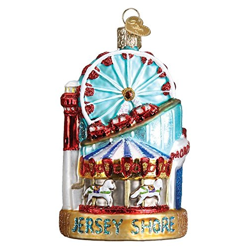 Old World Christmas Jersey Shore Glass Blown Ornament