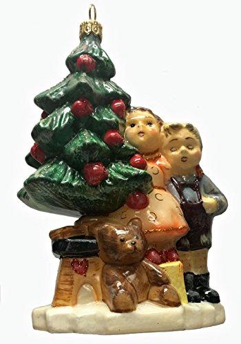 Pinnacle Peak Trading Company M.I. Hummel Wonder of Christmas Polish Glass Christmas Tree Ornament Poland