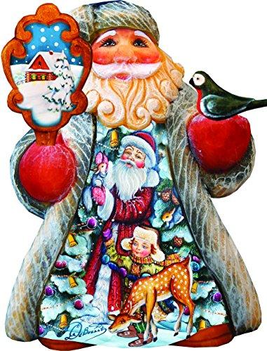 G. Debrekht Santa with Kids Tiny Tale Santa