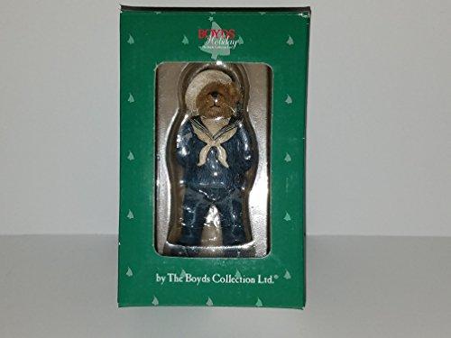 Boyds Bears Navy Bear Christmas Ornament