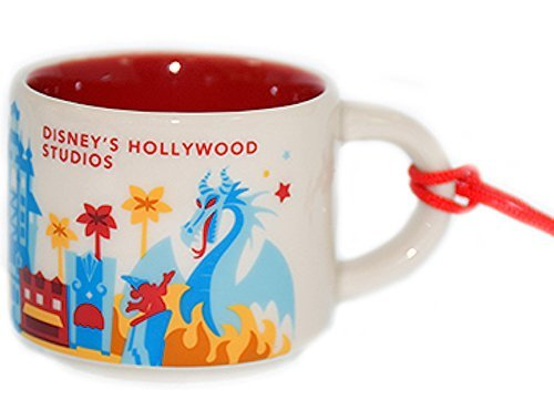 Disney's Hollywood Studios Version 2 (2016) You Are Here Starbucks 2 Oz ORNAMENT
