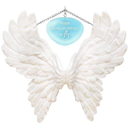 Hallmark Keepsake 2017 Wings to Fly Encouragement Porcelain Dated Christmas Ornament