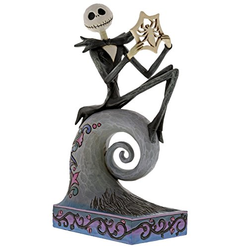 Disney Traditions by Jim Shore Jack Skellington Stone Resin Figurine, 8.5″