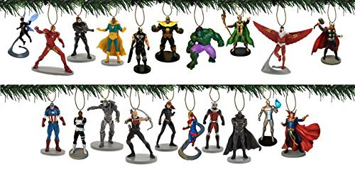 Disney Avengers 20pc Ornament Set