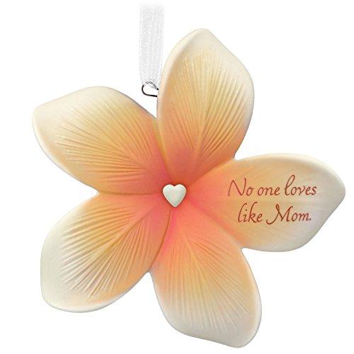 Hallmark Keepsake 2017 Thank You, Mom Flower Porcelain Dated Christmas Ornament