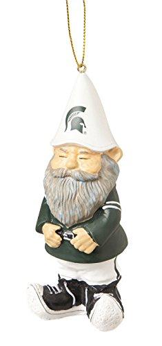 Michigan State Spartans Ornament – Gnome