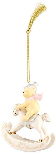 Lenox 2017 Winnie The Pooh Babys 1st Christmas Ornament