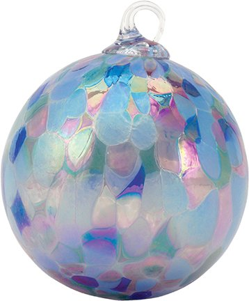 Glass Eye Studio Lavender Fields Classic Ornament