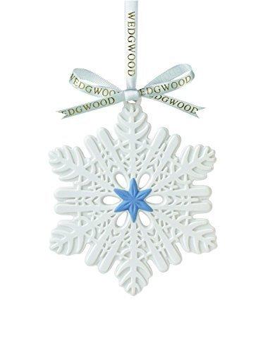 Wedgwood Snowflake Figural Ornament by Wedgwood