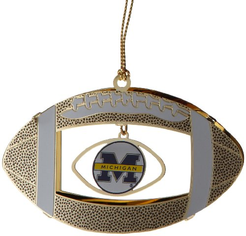 ChemArt Michigan Football Ornament