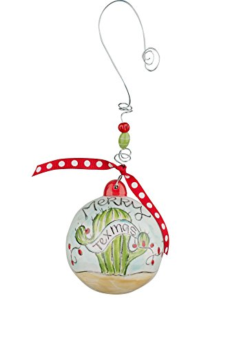 Glory Haus Merry Texmas Ball Ornament, Multicolor
