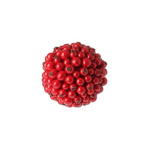 Raz 4″ Red Berry Ball Christmas Ornament 3600052