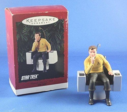 Captain James T. Kirk Star Trek 1995 Hallmark Keepsake Ornament